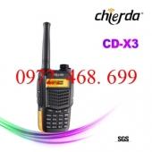 BỘ ĐÀM CHỐNG NƯỚC CHIERDA CD-X3