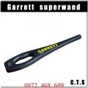 Máy dò kim loại garrett super wand
