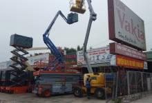 Cho thuê xe nâng người tại Hưng Yên