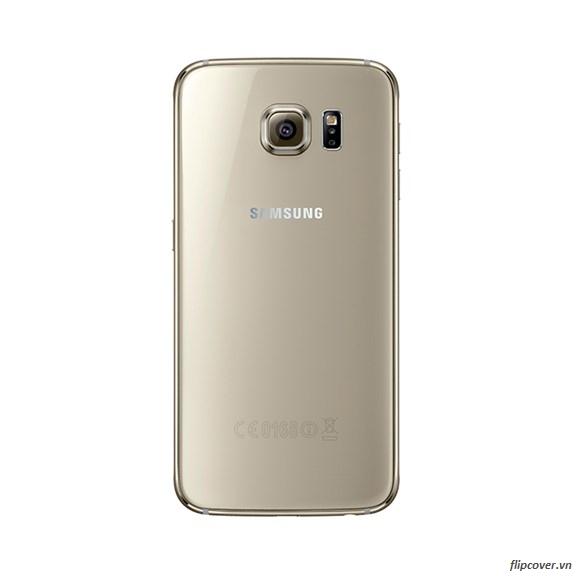 Thay nắp lưng Galaxy S6 màu vàng Gold