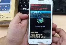Hướng dẫn phá khóa Samsung Core 2