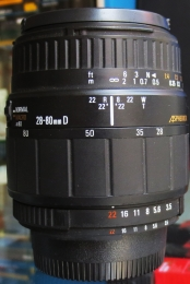 Sigma 28~80mmD Macro F3.5-5.6 For Nikon