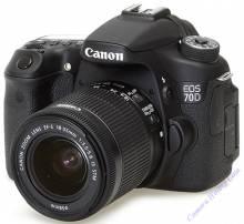 Canon EOS 70D Len 18~55mm IS STM
