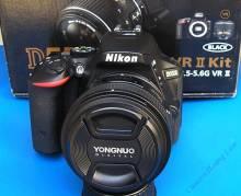 Nikon D5500 ống YN 50 f/1.8 Ni