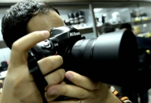 Nikon D4 Unboxing and shutter sound