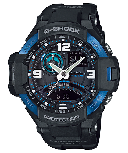 Casio G-Shock Gravity GA1000-2B