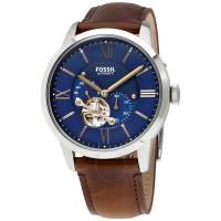 FOSSIL-Townsman-Automatic-Blue-Men039s-Watch-ME3110