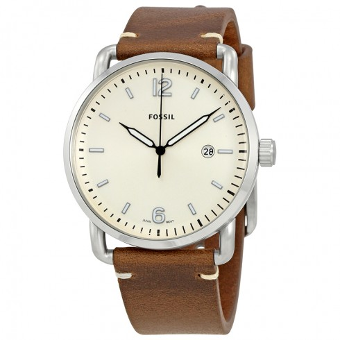 FOSSIL The Commuter Men's Leather Watch FS5275