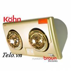 Đèn sưởi nhà tắm Kohn Braun KU02G