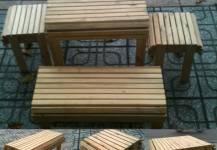 Học lỏm mẹo làm bàn ghế gỗ cafe luôn bóng đẹp