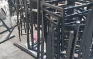 Xưởng đóng bàn ghế sắt mặt gỗ giá rẻ tại Hà Nội