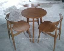 Bàn ghế cafe Vintage BGCF06