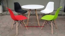 Bộ bàn ghế nhựa cafe GN02