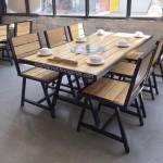 Mẫu bàn ghế nhà hàng BGNH3