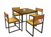 Bộ bàn ghế cafe khun...