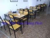Bộ bàn ghế quán ăn n...
