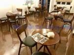 Bộ bàn ghế gỗ cafe BGCF19 phong cách cổ điển
