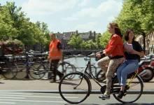 """Độc đáo chiến dịch """"xe đạp ôm"""""""