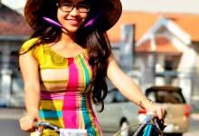 """Theo chân hành trình xe đạp """"Áo dài Việt- Du lịch Việt"""""""