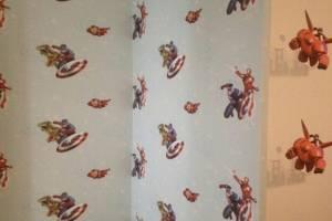 Chọn giấy dán tường cho phòng ngủ bé trai