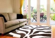 Cách chọn thảm trang trí phòng khách đẹp, sang trọng