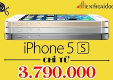Chỉ 01 tuần Xả hàng giá gốc iPhone 5s phiên bản Nhật