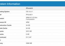 Điểm benchmark chứng minh iPhone 7 có 3GB RAM, chip A10 mạnh hơn cả iPad Pro