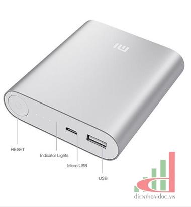 Pin dự phòng Xiaomi Mi 10.000 mAh Chính Hãng