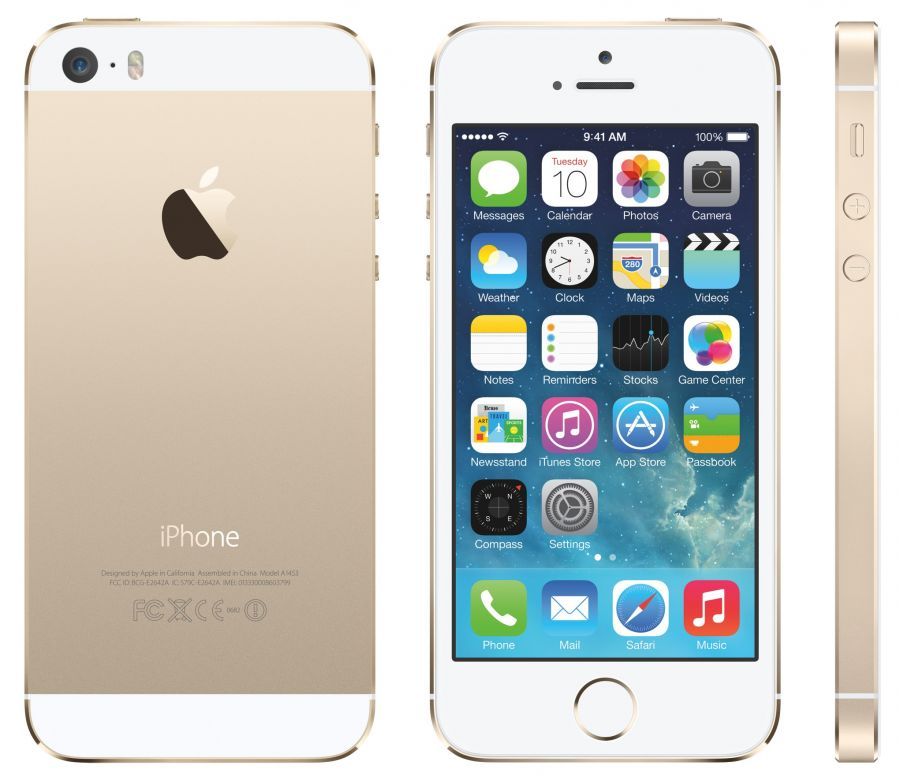 IPHONE 5S Gold 16G Lock