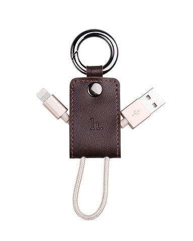 Móc chìa khóa HOCO làm bằng da bò thuộc
