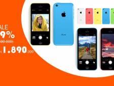 IPHONE 5C - BÁ CHỦ PHÂN KHÚC GIÁ RẺ