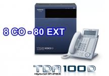 TỔNG ĐÀI PANASONIC KX-TDA100D-8-80