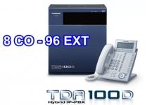 TỔNG ĐÀI PANASONIC KX-TDA100D-8-96