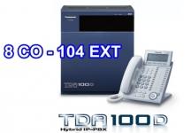 TỔNG ĐÀI PANASONIC KX-TDA100D-8-104