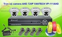 BỘ 1-4 CAMERA AHD VANTECH VP-111AHD 720P