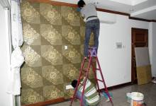 Cách dán giấy dán tường cao cấp cho không gian bền vững