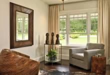 Gương treo tường phòng khách và những nguyên tắc đặt gương