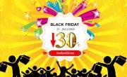 Black Friday - giảm giá 30% tất cả dòng tranh 3d, đồng hồ 3d