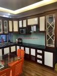 Tủ bếp gỗ xoan lào MS 114
