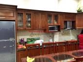 Tủ bếp gỗ xoan lào MS 115
