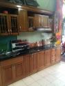 Tủ bếp gỗ xoan đào  HH 02