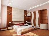 bộ tủ áo và giường nghủ HN 02