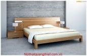 giường nghủ gỗ công nghiệp HM 24