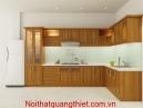 Tủ bếp gỗ xoan đào XĐ