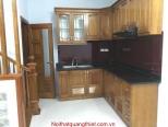 Tủ bếp gỗ xoan đào NH 02