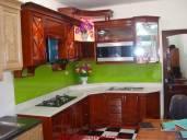 Tủ bếp gỗ xoan đào MH20