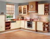 Tủ bếp gỗ veer neer xoan đào MS 15