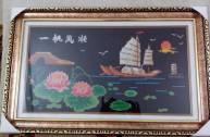 khung tranh treo tường