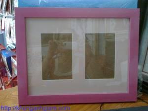 khung ảnh gỗ treo tường kích thước 13x18cm