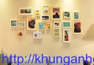 khung ảnh gỗ treo tường kích thước 15x21cm
